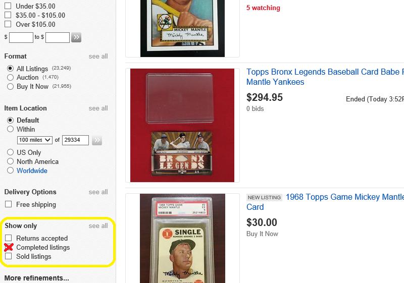 Does eBay Archive Auction Listings? - thebalancesmb.com